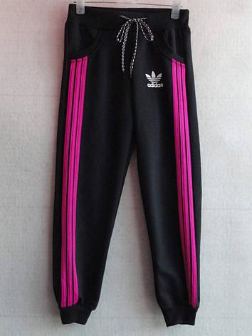 Детские спортивные штаны для девочки Adidas 1-5 лет, фото 2