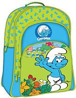Школьный облегченный рюкзак Смурфики (15259)