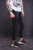 Спортивные мужские штаны Rocky на весну в черном цвете
