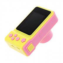 Дитячий цифровий фотоапарат Smart Kids Camera V7 цифрова іграшка для дітей, фото 3