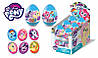 MY LITTLE PONY Мармелад в пластиковом яйце с игрушкой 6/12, 10г., Конфитрейд