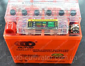 Аккумулятор 12V 9Аh гелевый (135x75x135, c датчиком, mod:12N9L-BS  OUTDO