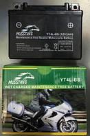 АКБ YT12V4L-BS пастовый чёрный 86x70x114 MUSSTANG