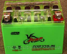 Аккумулятор JYMP 4A-BS (GEL) зеленый 86x70x114
