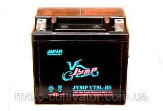 Аккумулятор 12V5A JYMP черный низкий (110x105x67)