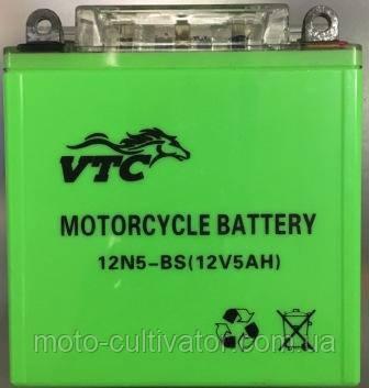 Аккамулятор 12V5A  JAWA ACTIV зелёный 120*130*61