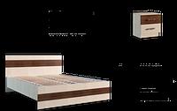 """Кровать """"Марсель""""1600+ламели"""