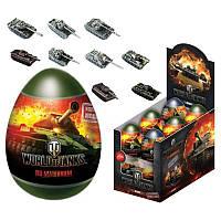 """""""World of Tanks"""" Драже в пластиковом яйце с игрушкой 6/12, 20г"""