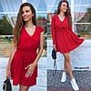 Женское оригинальное платье с накидкой в расцветках. БЛ-8-0619, фото 2