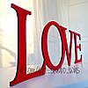 """Табличка """"LOVE"""""""
