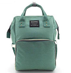 Сумка-рюкзак для мам Baby Bag 5505, бірюзовий