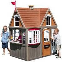 Деревянный детский домик Greystone Cottage Spielhaus Kidkraft P280093. Домик для детей