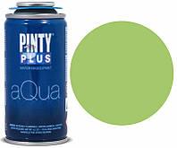 Краска аэрозоль на водной основе Aqua, Зеленая, 150мл, PINTYPLUS