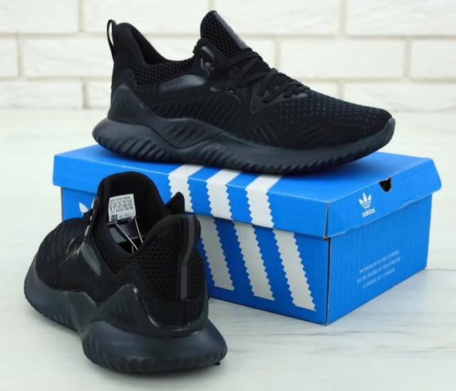 Кроссовки Adidas Alphabounce Beyond Triple Black фото
