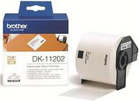 Картридж Brother для спеціалізованого принтера QL-1060N/QL-570 (трн.наклейки 62mm x 100mm) (DK11202)