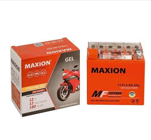 Мото аккумулятор MOTO YB 30L-B MAXION(12V, 30A), фото 2