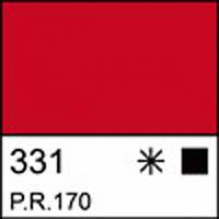 Фарба акрилова ЛАДОГА, червона, 100мл ЗХК.