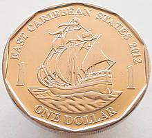 Східні Кариби 1 долар 2012