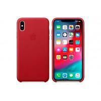 Чохол до моб. телефона Apple iPhone XS Max Leather Case - (PRODUCT)RED, Model (MRWQ2ZM/A)