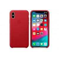 Чохол до моб. телефона Apple iPhone XS Leather Case - (PRODUCT)RED, Model (MRWK2ZM/A)