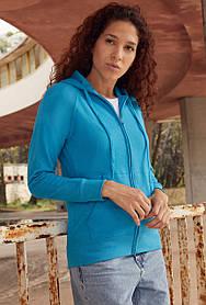 Лёгкая женская толстовка на молнии 62-150-0