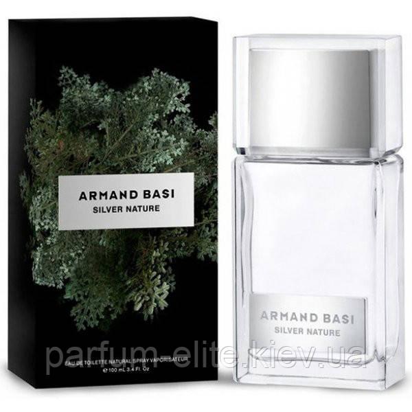 Чоловіча туалетна вода Armand Basi Silver Nature 50ml