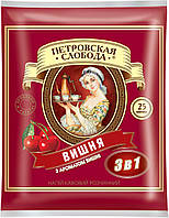 Кофе растворимый Петровская слобода 3 в 1 вишня 25 x 20 г