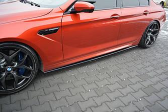 Пороги BMW M6 F06 елерон тюнінг обвіс