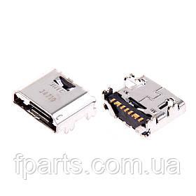 Коннектор зарядки Samsung i9060, i9082, i9152, i8550, i8552, G360, G361, T110, T111, T116, T560, T561 Original
