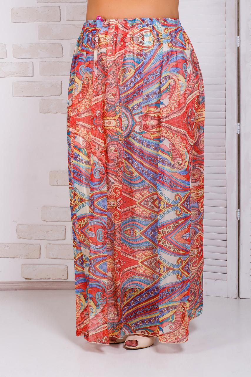 Летняя юбка в пол 42-50 р