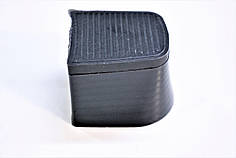 Каблук женский пластиковый 237 р.1-3  h-3.4-3.6 см.