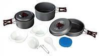 Набор посуды из анодированного алюминия на 2-3 персоны Tramp TRC-024  (TRC-024)