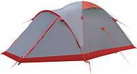 Экспедиционная палатка Tramp Mountain 2 Серый / Красный (TRT-049.08)