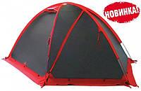 Экспедиционная палатка Tramp Rock 4 Серый / Красный (TRT-052.08)