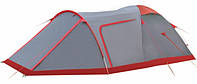 Экспедиционная палатка Tramp Cave Серый / Красный (TRT-045.08)
