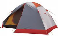 Экспедиционная палатка Tramp Peak 3 Серый / Красный (TRT-042.08)