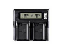 Зарядное устройство NEWELL LCD Dual Charger do LP-E6