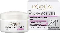 Дневной крем для сухой и чувствительной кожи L'ORÉAL PARIS Hydra Active 3, 50 мл., фото 1