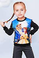Свитшот на девочку трикотажный