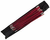 Комплект алюминиевых дуг Tramp Alu Peak 3 Красный (TRA-072)