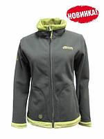Tramp Женская куртка Бия Серый/зеленый (TRWF-001)