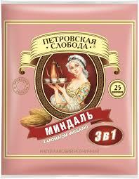 """Кофе расстворимый """"Петровская слобода"""" 3в1 миндаль 20 г х 25 шт"""