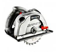 Акция! Пила циркулярная GRAPHITE 1200Вт, диск 185x20 мм (58G486) [Скидка 3%, при условии 100% предоплаты!]