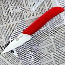 """Нож керамический для чистки овощей/фруктов не требует заточки рукоять пластик Ke chuang 3"""", фото 3"""