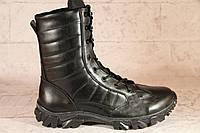Взуття тактичне армійське з натуральної чорної шкіри АР ТАЙФУН Ч