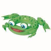Круг надувной для плавания «Лягушка», от 10 лет, фото 1