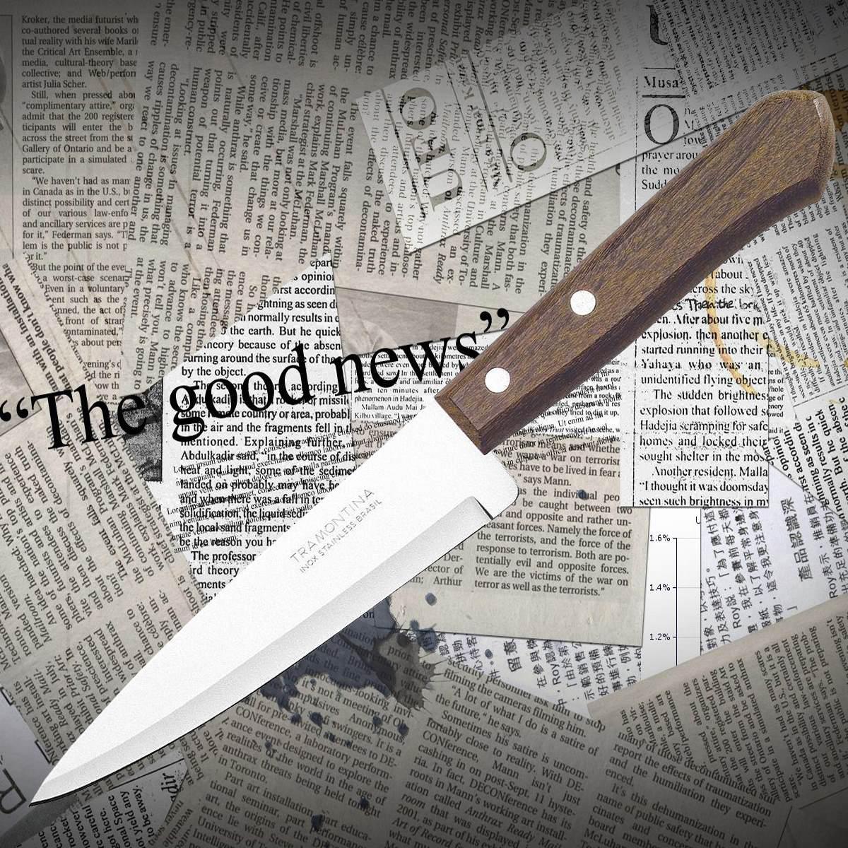 Нож кухонный Tramontina 22902/008 UNIVERSAL поварской