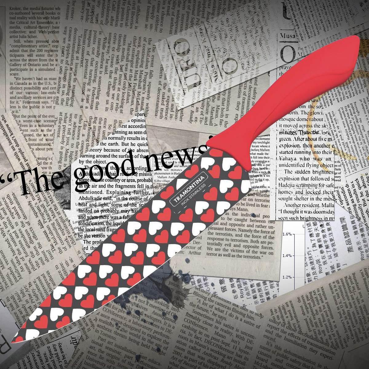 Нож кухонный Tramontina 23034/178 Colorcut для мяса