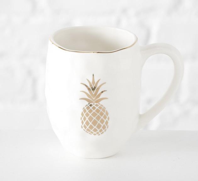 Кружка белая керамика h13см 600мл 1013270 керамическая чашка