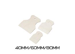 Набор шпателей резиновых Polax (40мм/60мм/80мм)